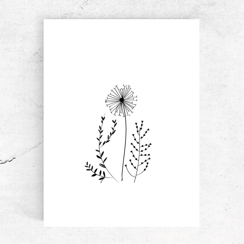 Studio-Tosca-ansichtkaart-bloem