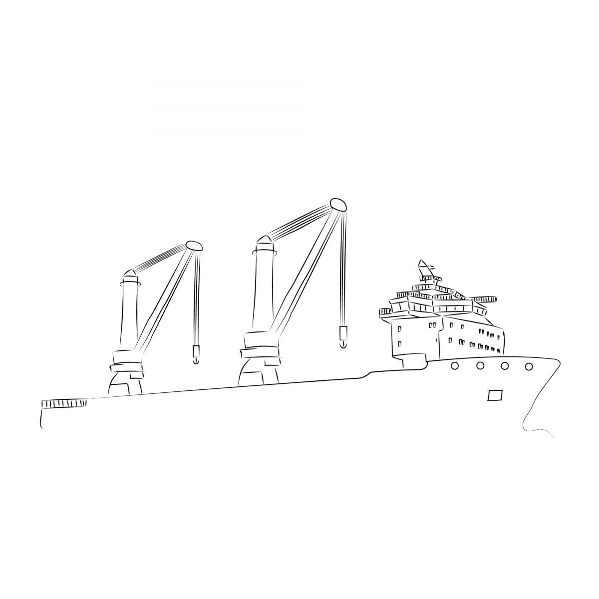Studio-Tosca-Jumbo-Shipping-kinetic-schip-boot-tekening-illustratie