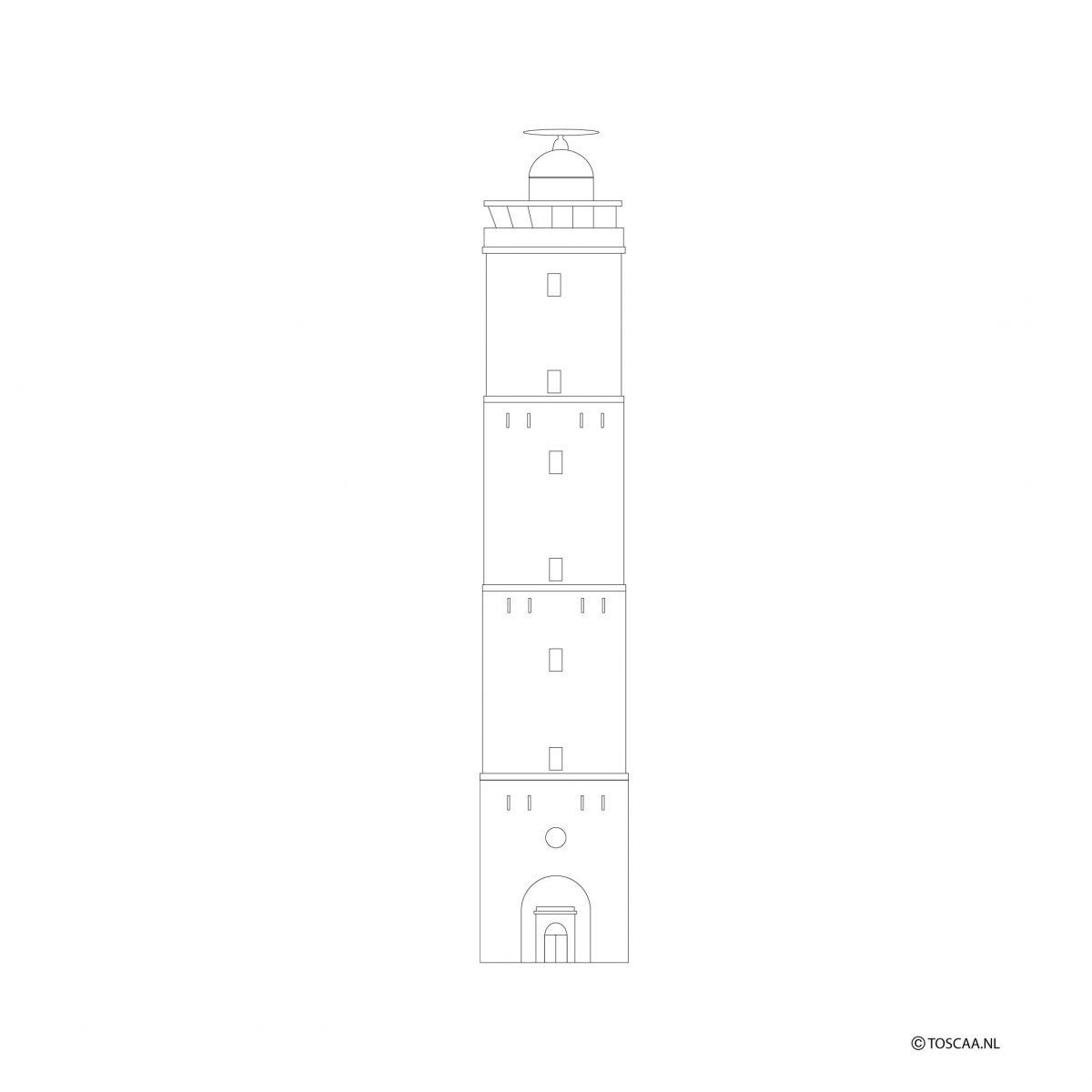 brandaris-terschelling-studio tosca-illustratie-
